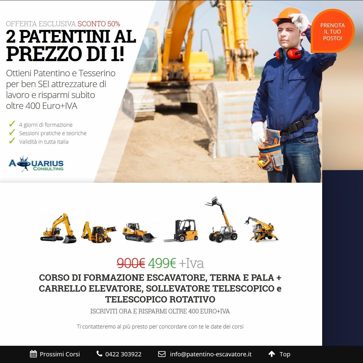 Concorso Vigili del Fuoco 2016 | Punti Patentini Attrezzature: Corsi Treviso|Venezia|Padova|Vicenza|Rovigo|Belluno
